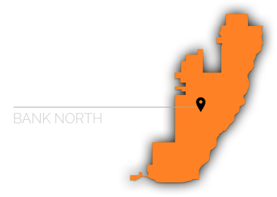 west bank north